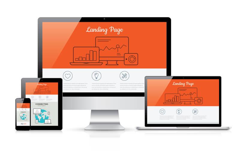 Webpage mit Responsive Webdesign