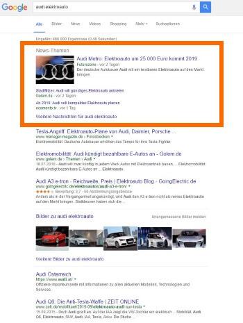 2016-09-23 Google News One Box_Audi Elektroauto_2
