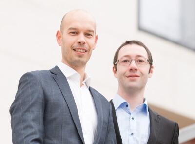 Markus Inzinger und Jan Königstätter, Geschäftsführer