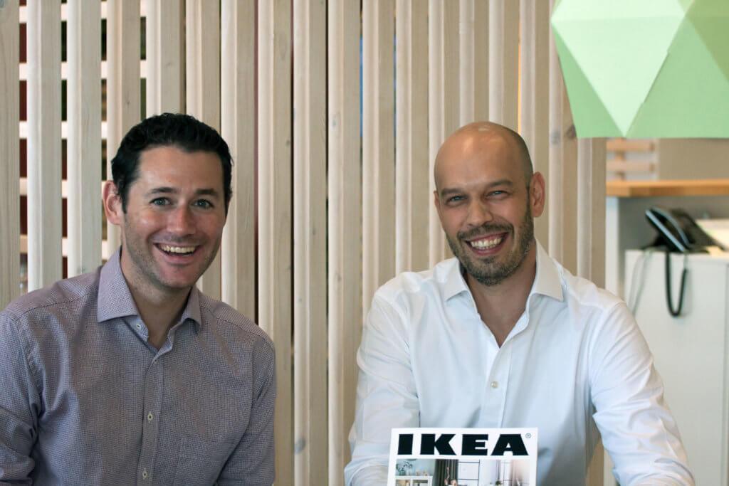David Jaffe, Web and Digital Manager IKEA Austria und Markus Inzinger, geschäftsführender Gesellschafter Otago Online Consulting GmbH