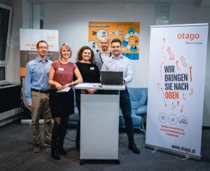 Otago Sales Team, Projektmanagement und Geschäftsführung