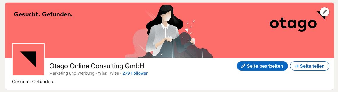 LinkedIn Titelbild otago