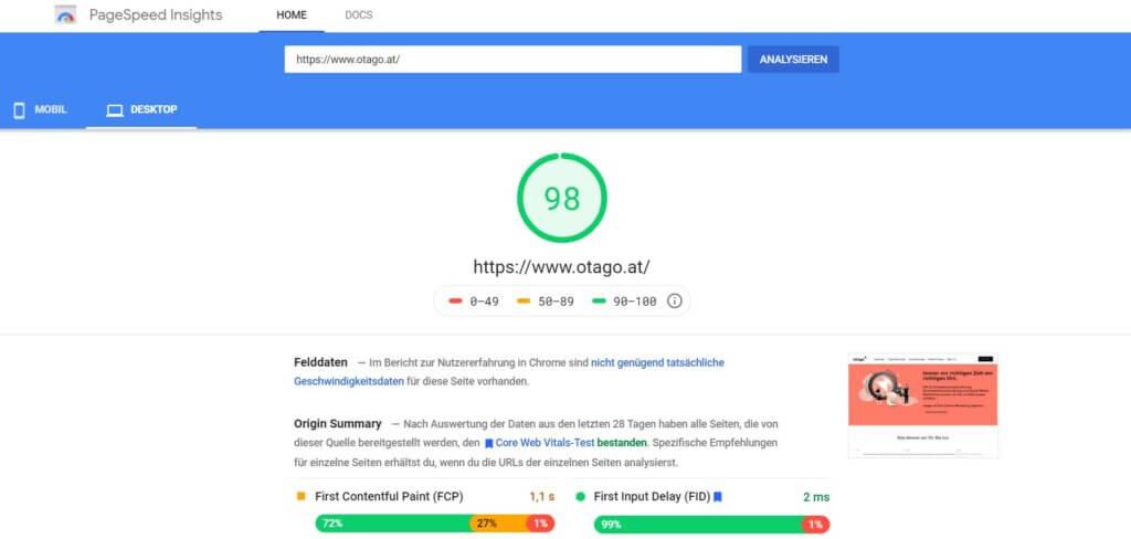 page speed otago03